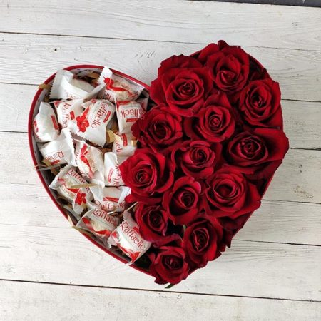 Букет 170 Страсть и сладость розы