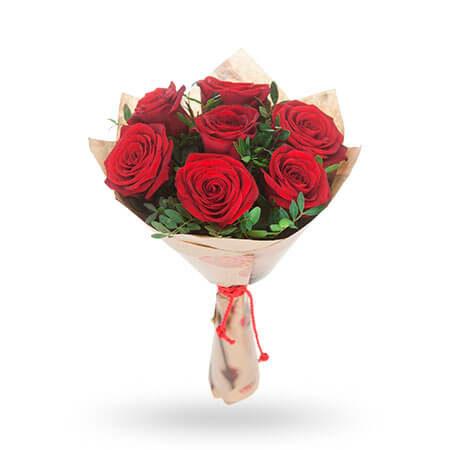 7 роз и 5 фисташек